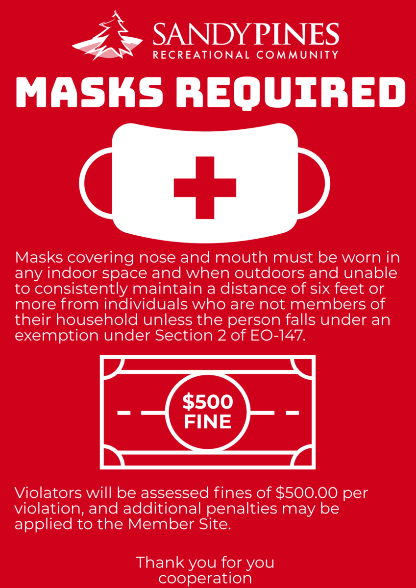 COVID19 Masks Required EO
