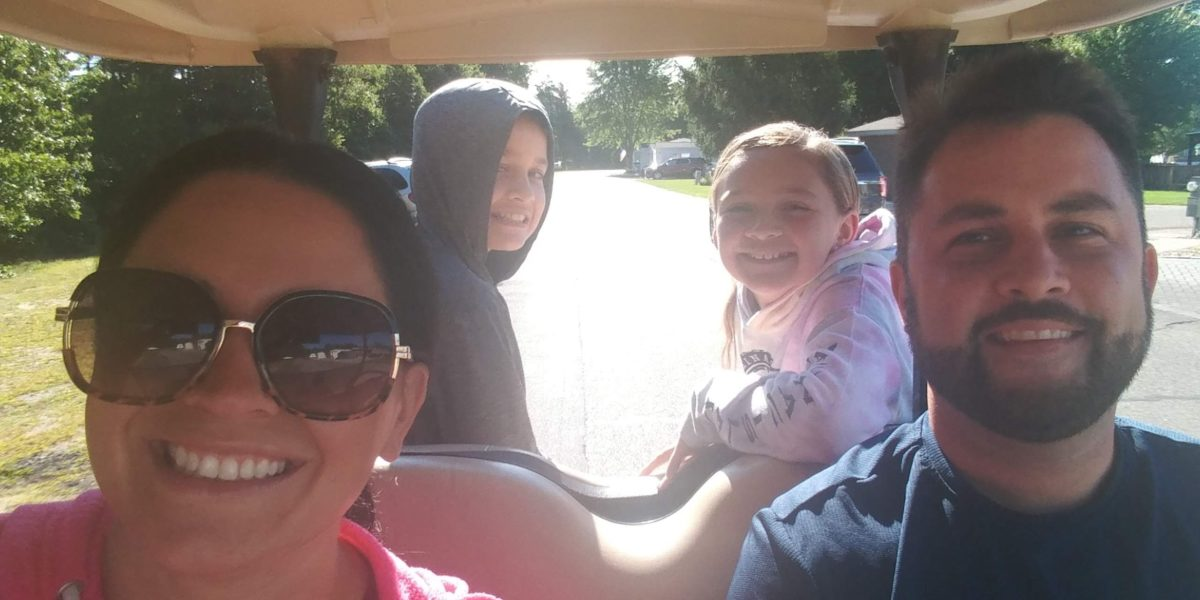 Taliaferro Family Golf Cart