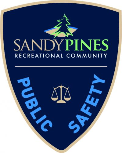 Sandy Pines Public Safety Badge